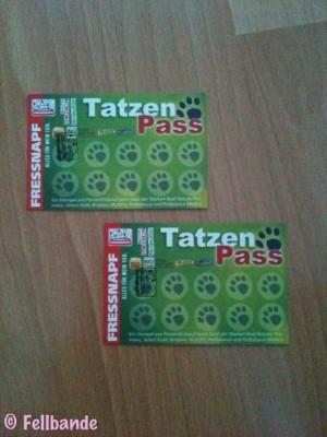 Fellbandes Tatzenpass!