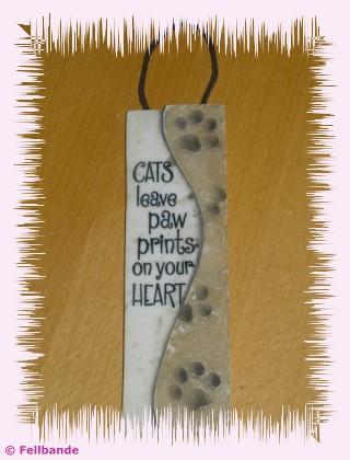 Katzen hinterlassen Pfotenspuren auf Deinem Herzen!